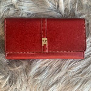 Tommy Hilfger red wallet